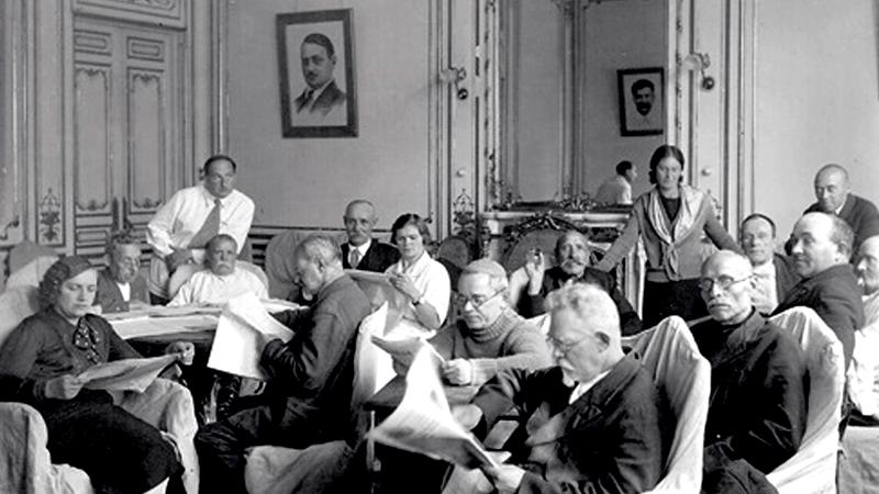 Дом старых большевиков, 30-е гг. ХХ век