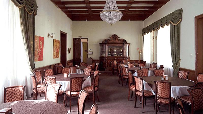 Охотничий зал ресторана «Особняк Кочубея»