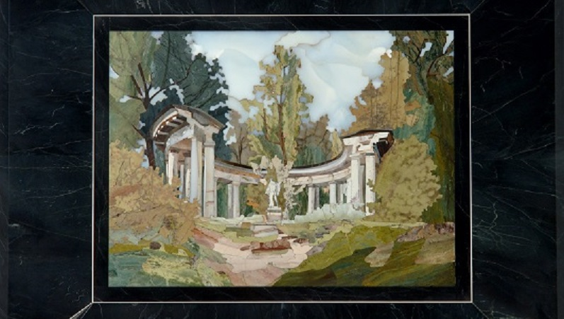 М. Акбаров. Храм Аполлона