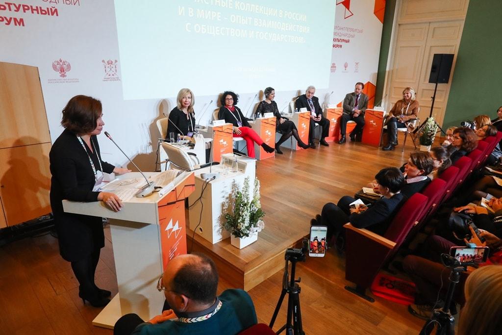 Итоги Кочубеевских чтений представили на Культурном форуме